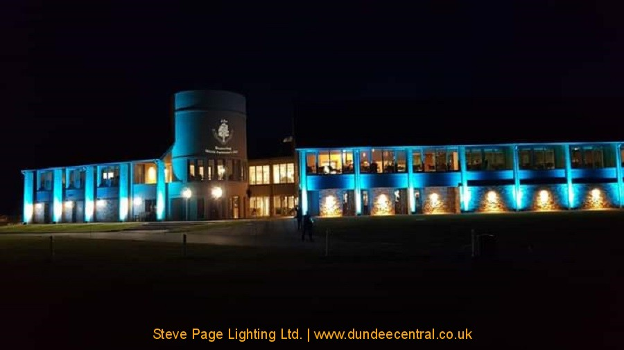 outdoor building illuminations